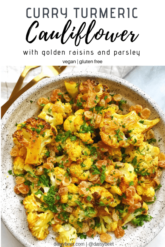 curry turmeric cauliflower