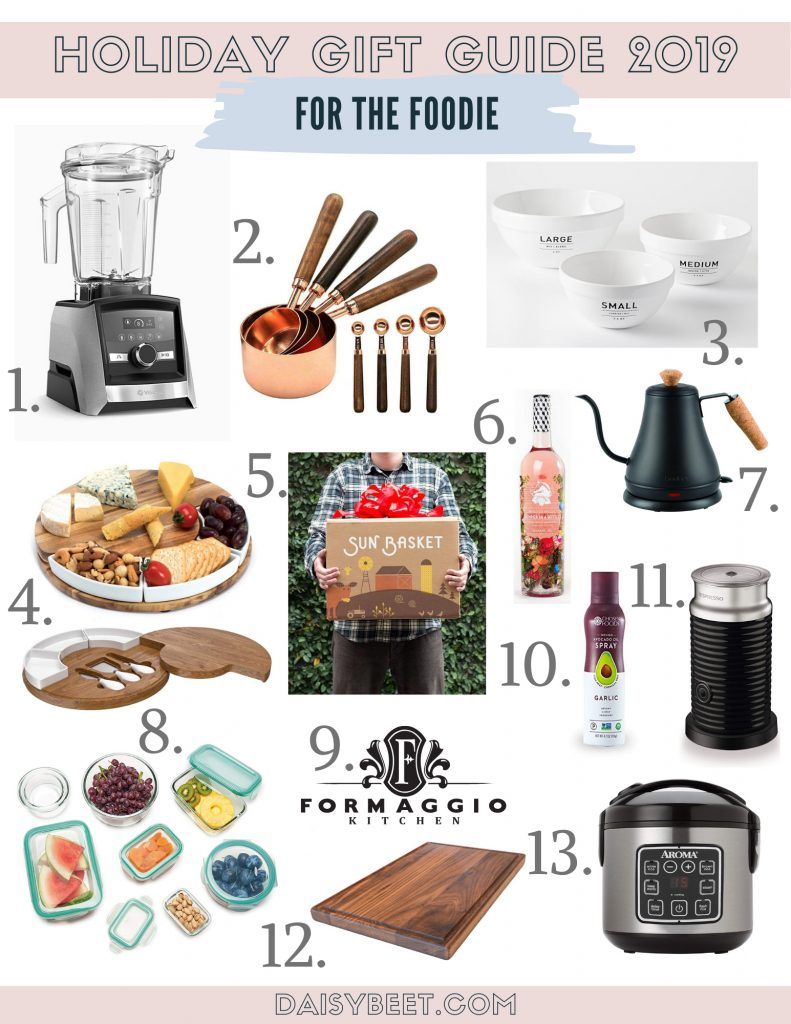 Foodie Holiday Gift Guide - Daisybeet