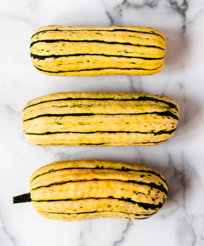Roasted Delicata Squash with Middle Eastern Yogurt Sauce - Daisybeet