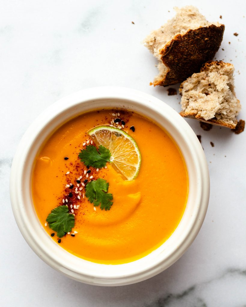 Curry Cauliflower Buttercup Squash Soup (Vegan, Gluten Free) - Daisybeet