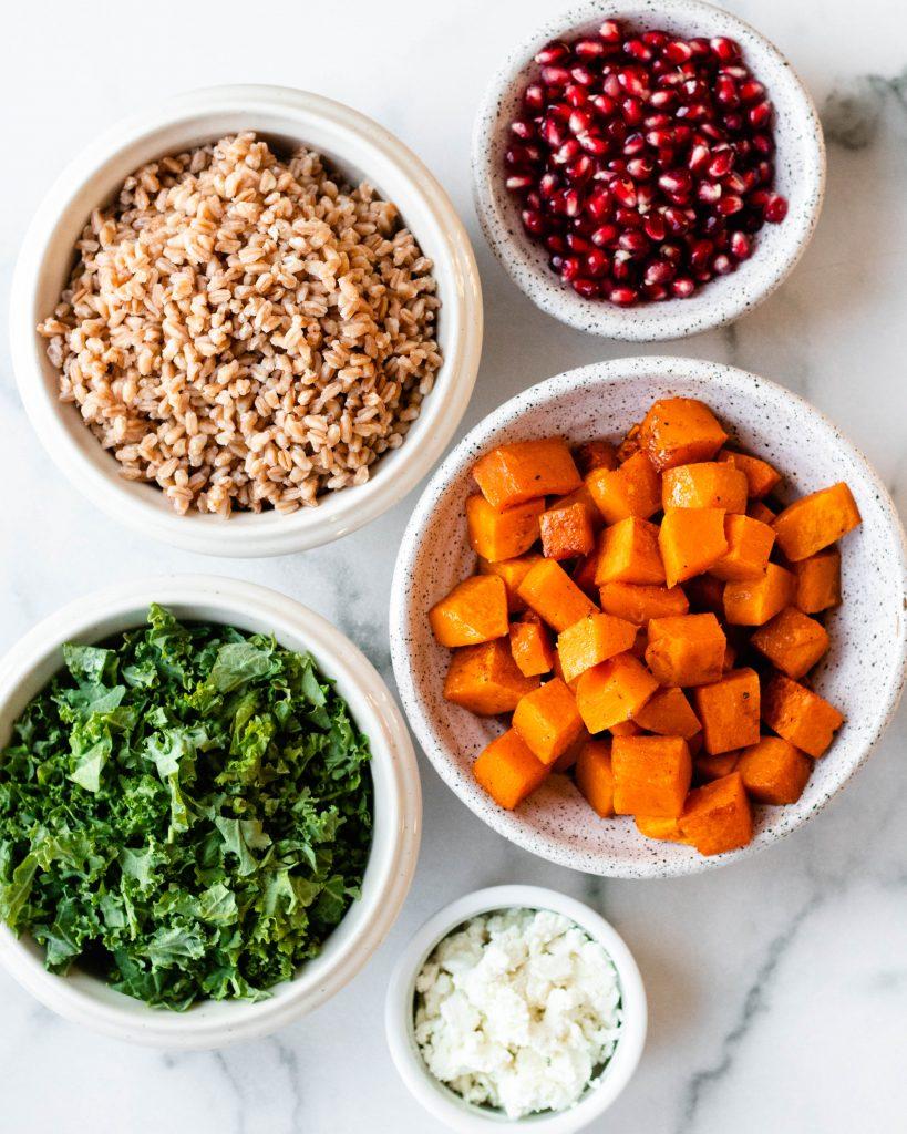 Farro Salad Ingredients